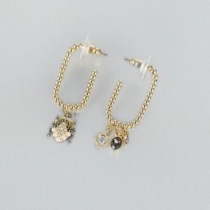 Swarovski Vmagnetic Hoop Pierced Earrings